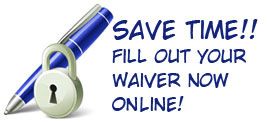 Save Time do Your Waiver Online!